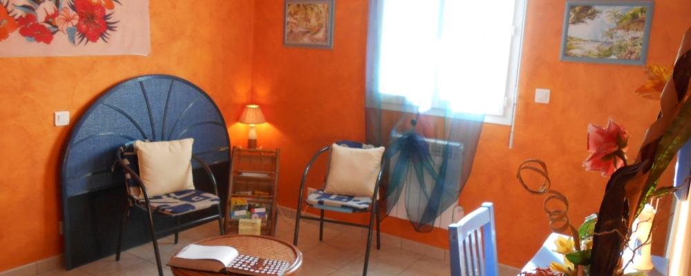 Gîte « Ile des Pins » - Salon
